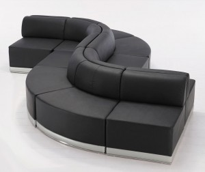 Modular Bench Seating, Leather
