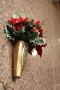 Floral Placements for Crypts, Winter
