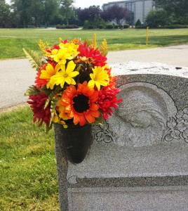 Floral Placements for Graves, Monument, Fall