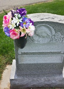 Floral Placements for Graves, Monument, Summer