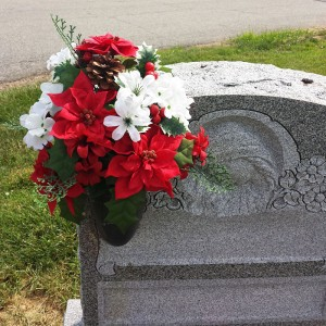Floral Placements for Graves, Monument, Winter