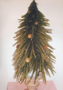 Specialty Floral Placement, Christmas Tree