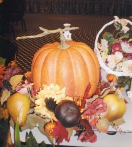 Specialty Floral Placement, Pumpkin