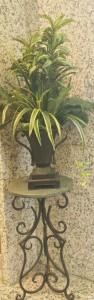 Mausoleum Decor: Plants